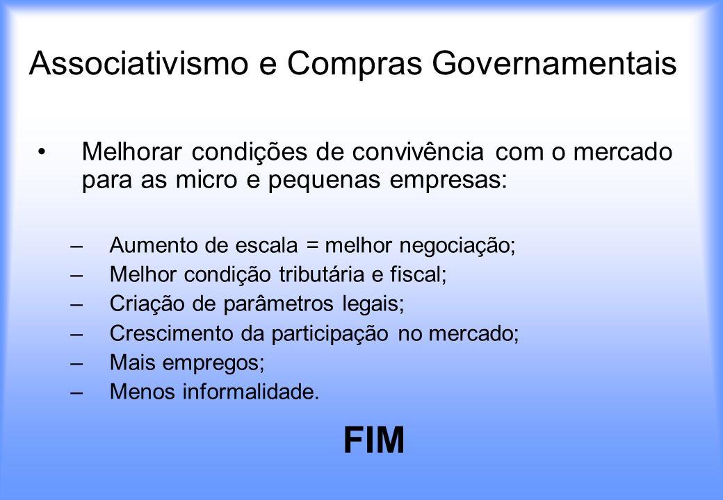Associativismo e Compras Governamentais