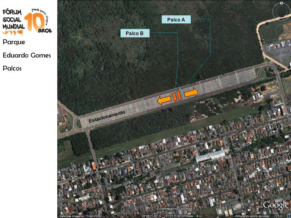 Palco A Palco B Parque Eduardo Gomes Palcos Estacionamento