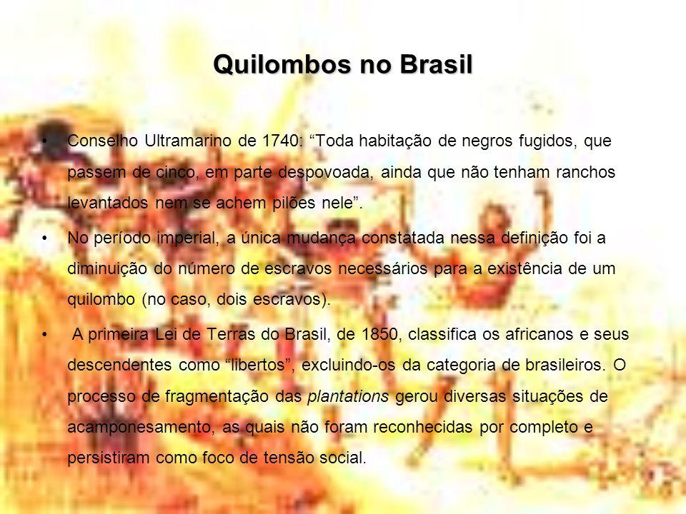 Quilombos no Brasil