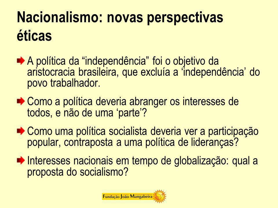 Nacionalismo: novas perspectivas éticas