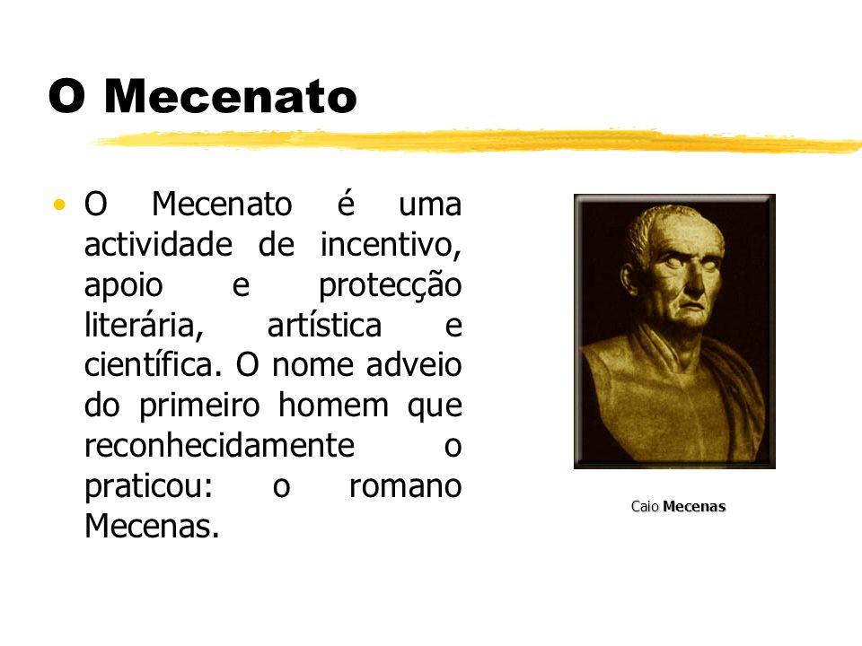O Mecenato