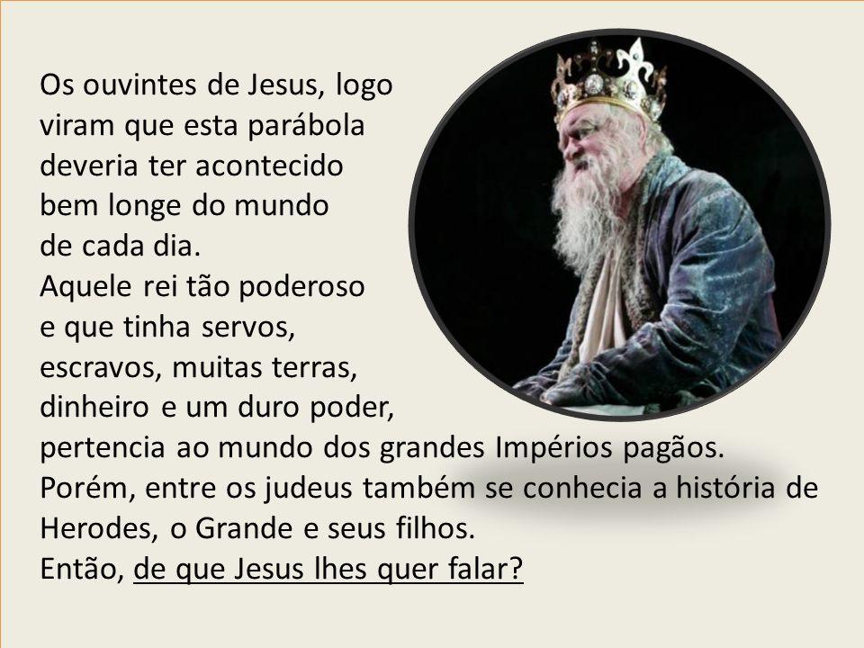 Os ouvintes de Jesus, logo