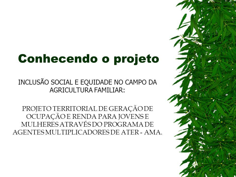 INCLUSÃO SOCIAL E EQUIDADE NO CAMPO DA AGRICULTURA FAMILIAR: