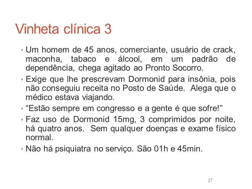 Vinheta clínica 3