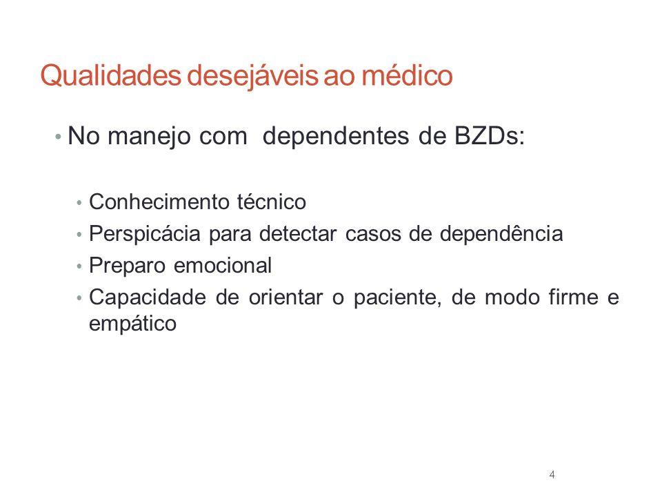 Qualidades desejáveis ao médico