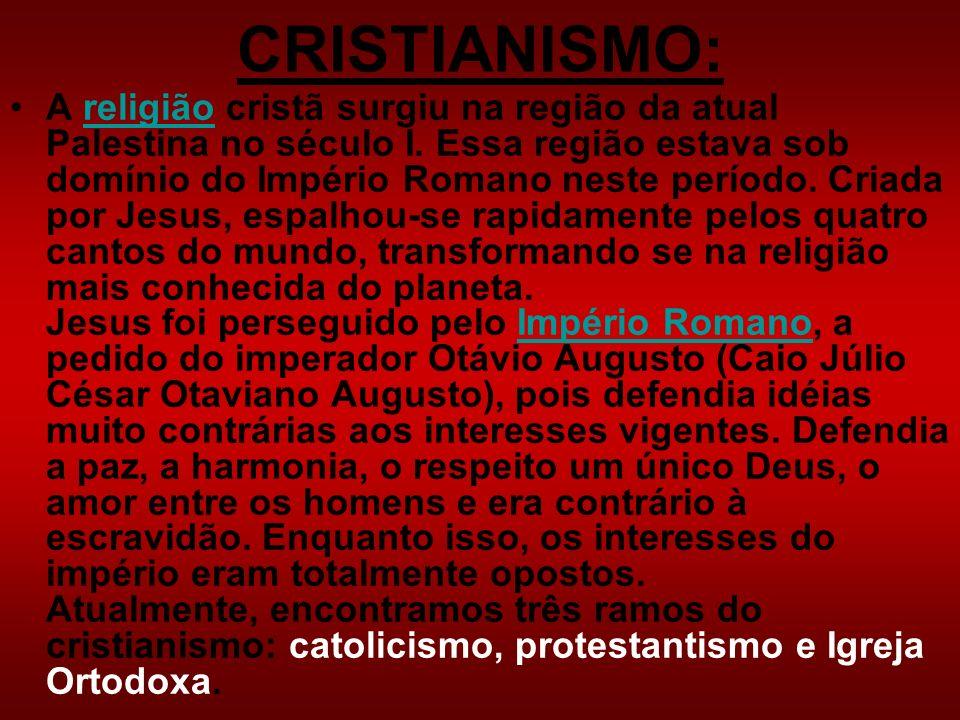 CRISTIANISMO: