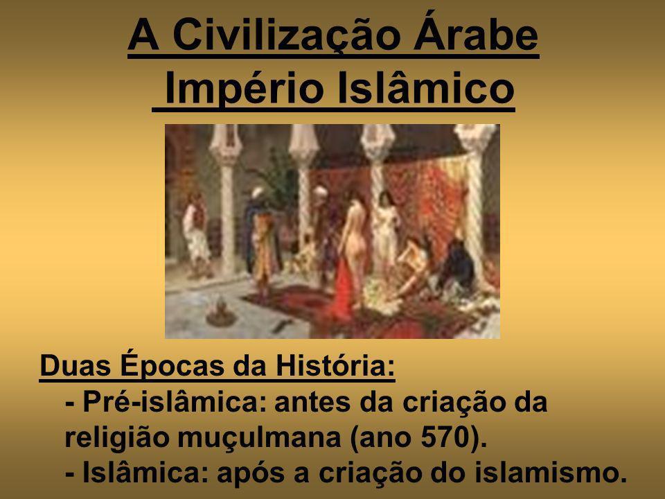 A Civilização Árabe Império Islâmico