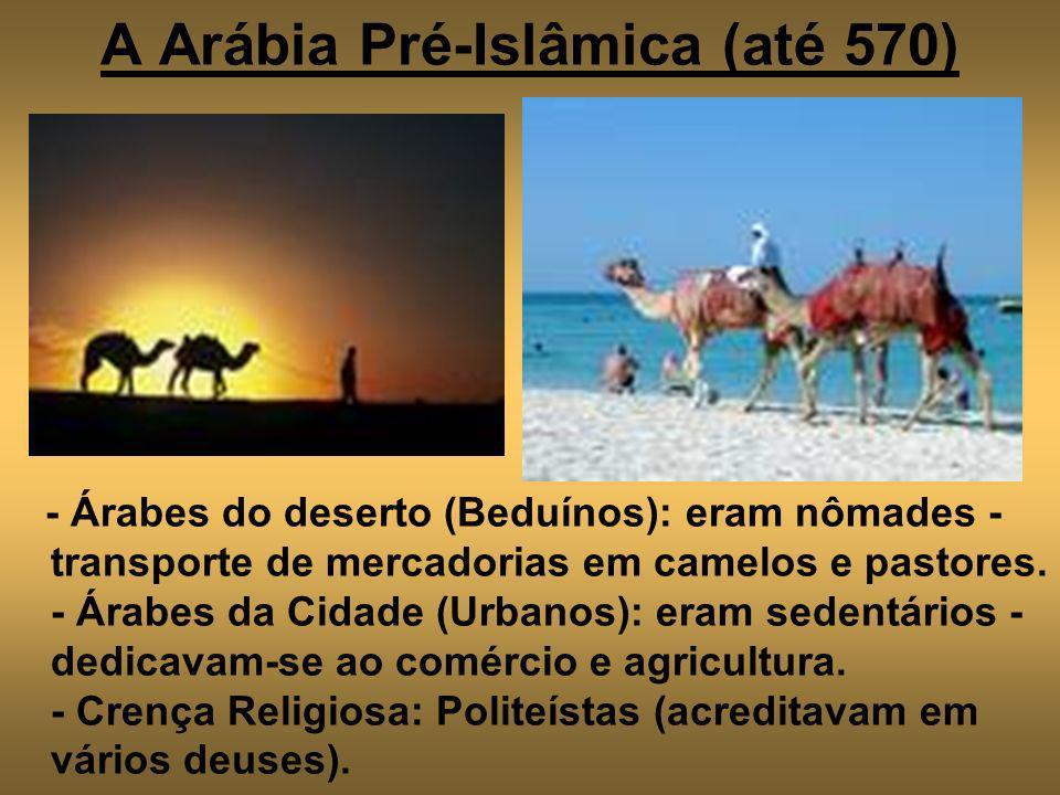 A Arábia Pré-Islâmica (até 570)