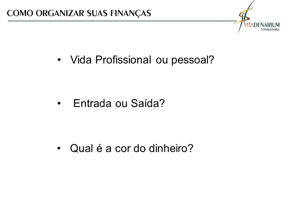 Vida Profissional ou pessoal
