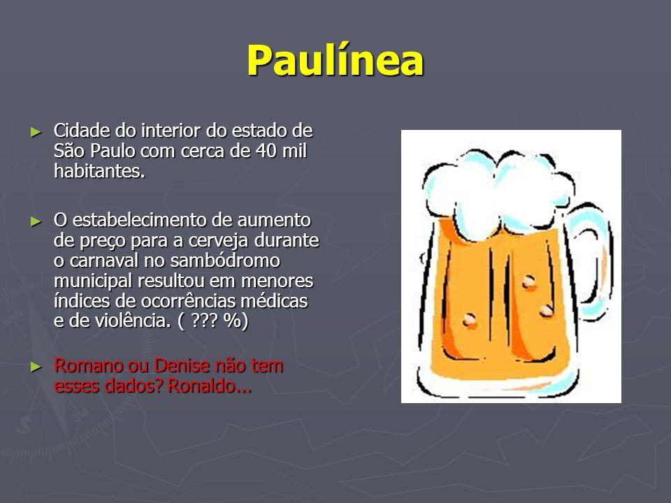 Paulínea Cidade do interior do estado de São Paulo com cerca de 40 mil habitantes.