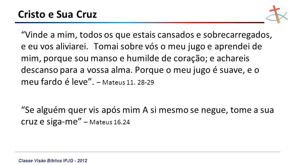 Cristo e Sua Cruz