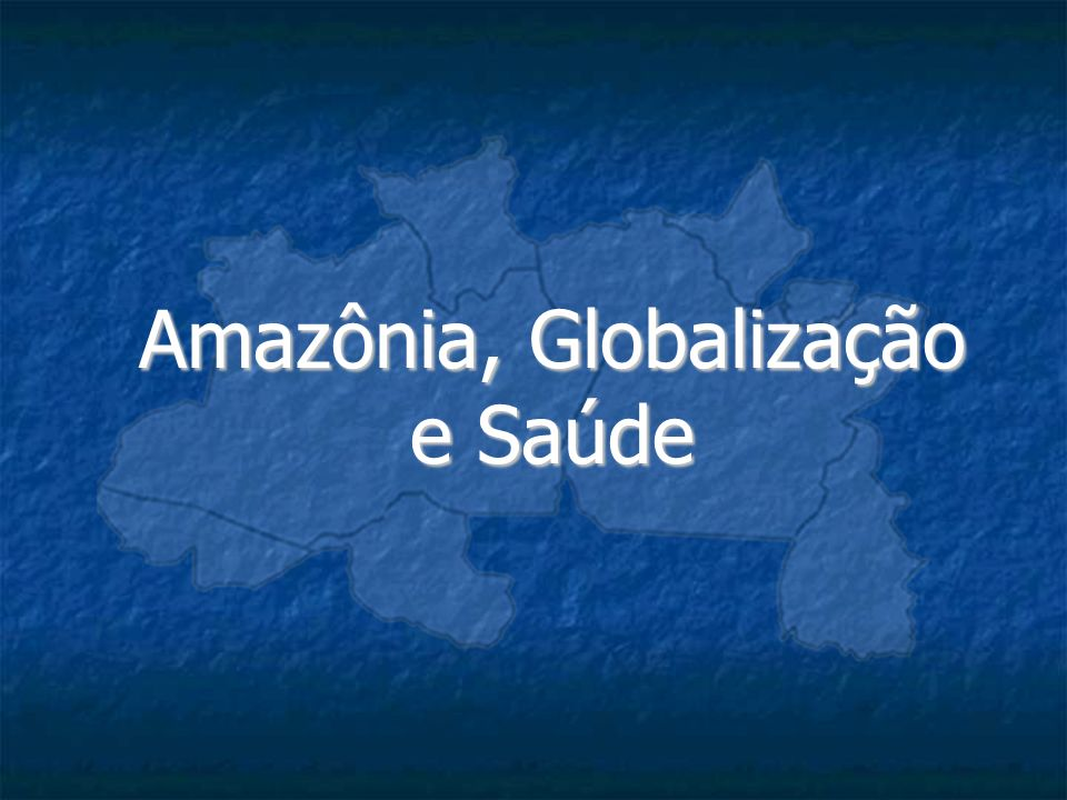 Amazônia, Globalização