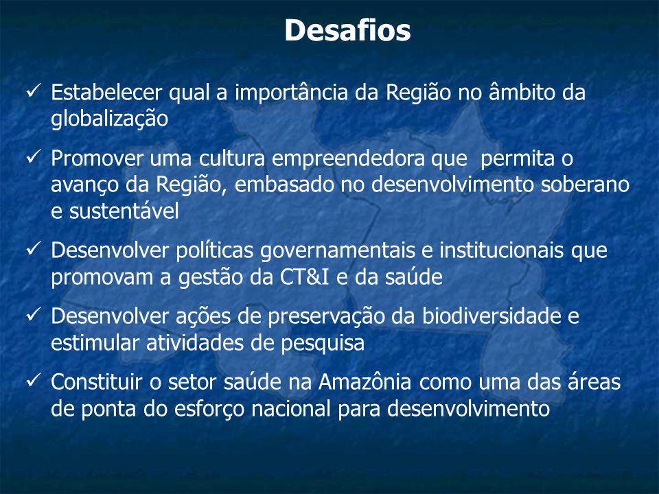 Desafios Estabelecer qual a importância da Região no âmbito da globalização.