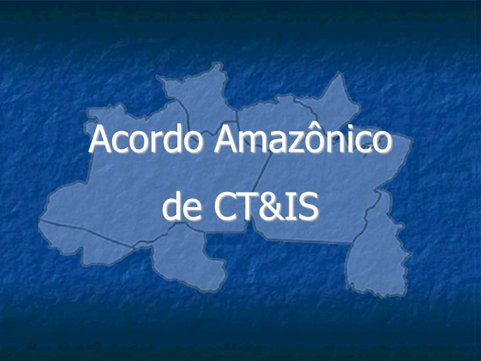 Acordo Amazônico de CT&IS