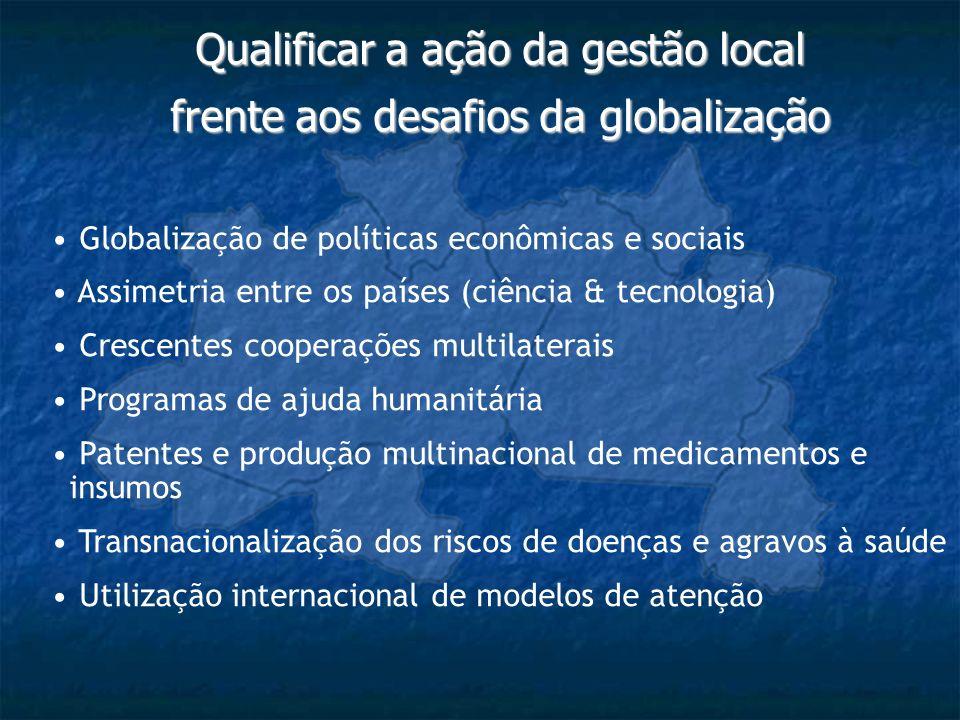 Qualificar a ação da gestão local frente aos desafios da globalização