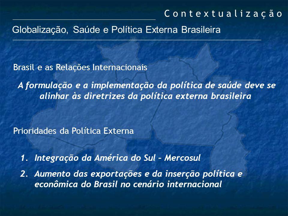 Globalização, Saúde e Política Externa Brasileira