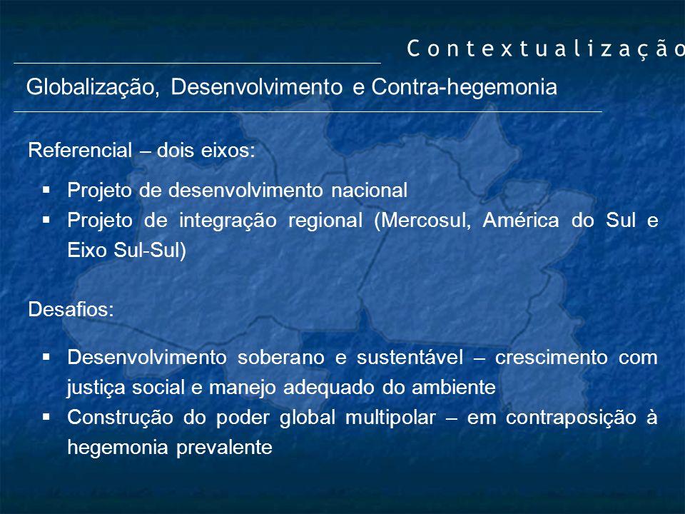 Globalização, Desenvolvimento e Contra-hegemonia