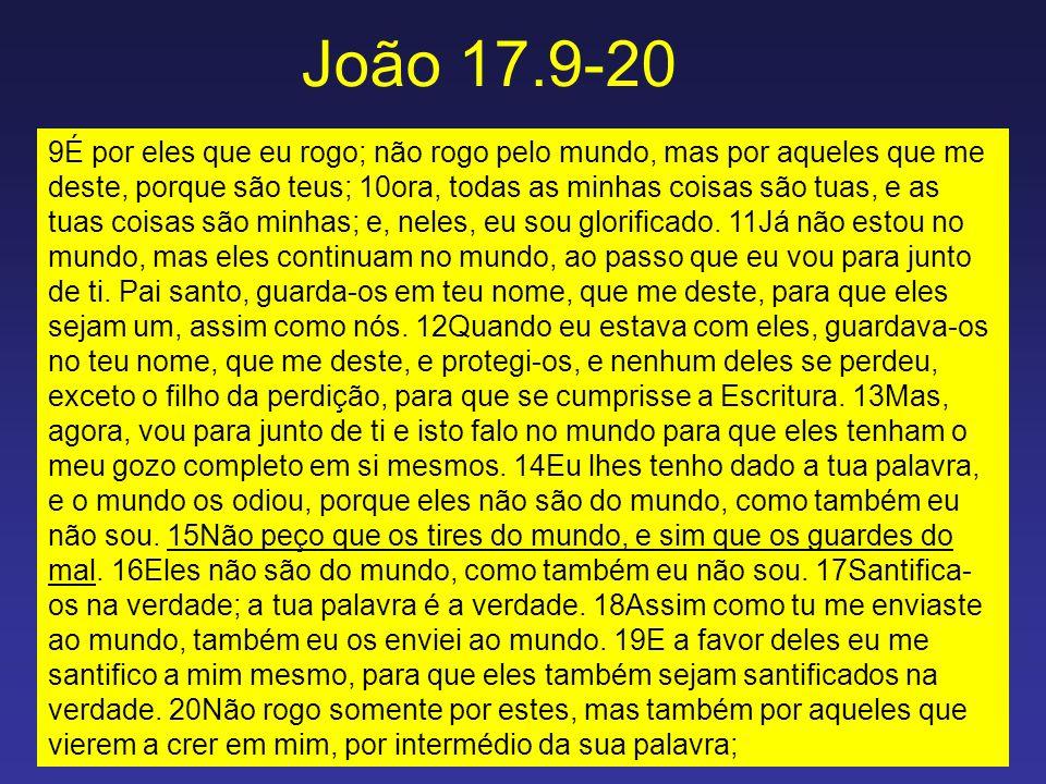 João 17.9-20