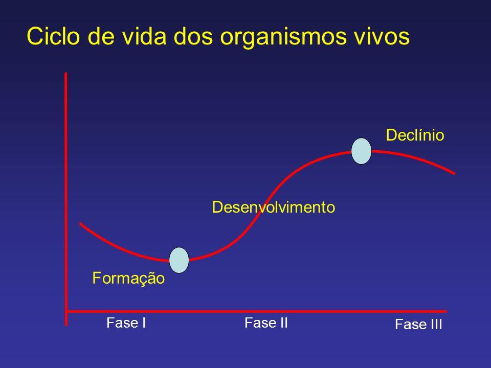 Ciclo de vida dos organismos vivos
