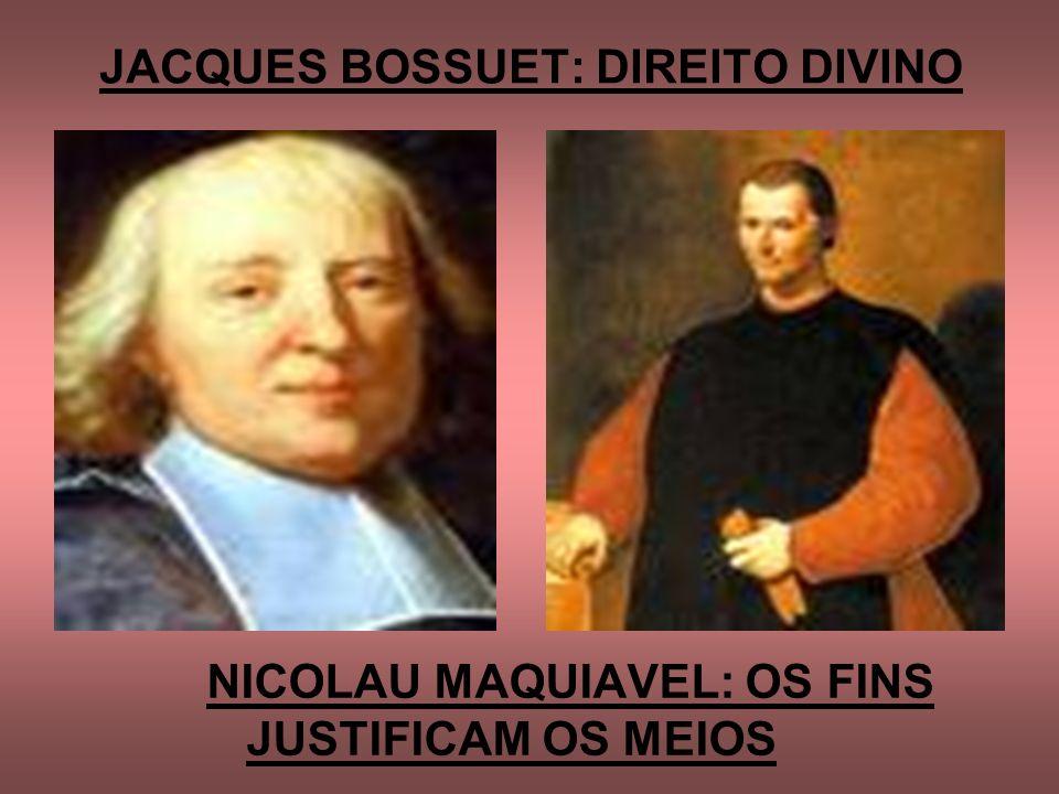 JACQUES BOSSUET: DIREITO DIVINO