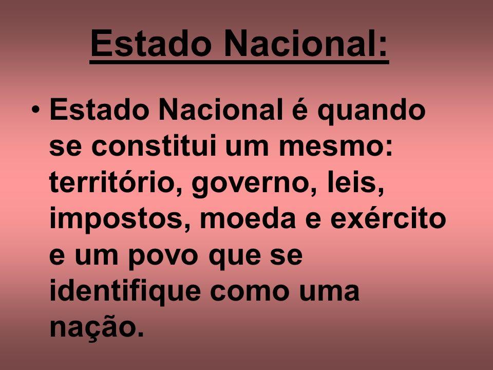 Estado Nacional: