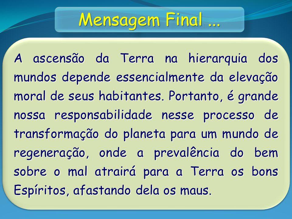 Mensagem Final ...