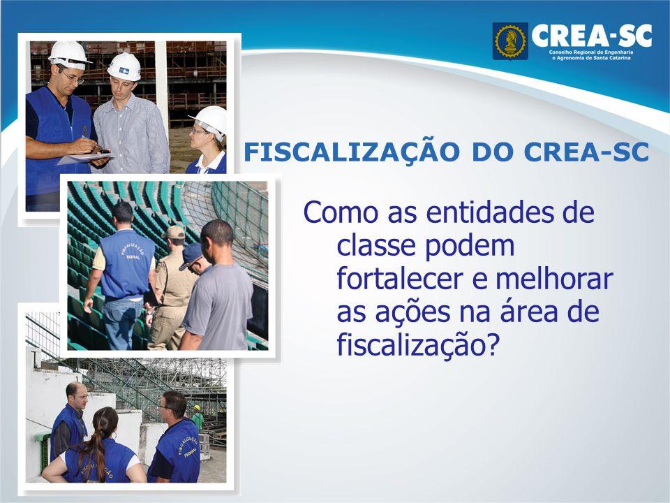 FISCALIZAÇÃO DO CREA-SC