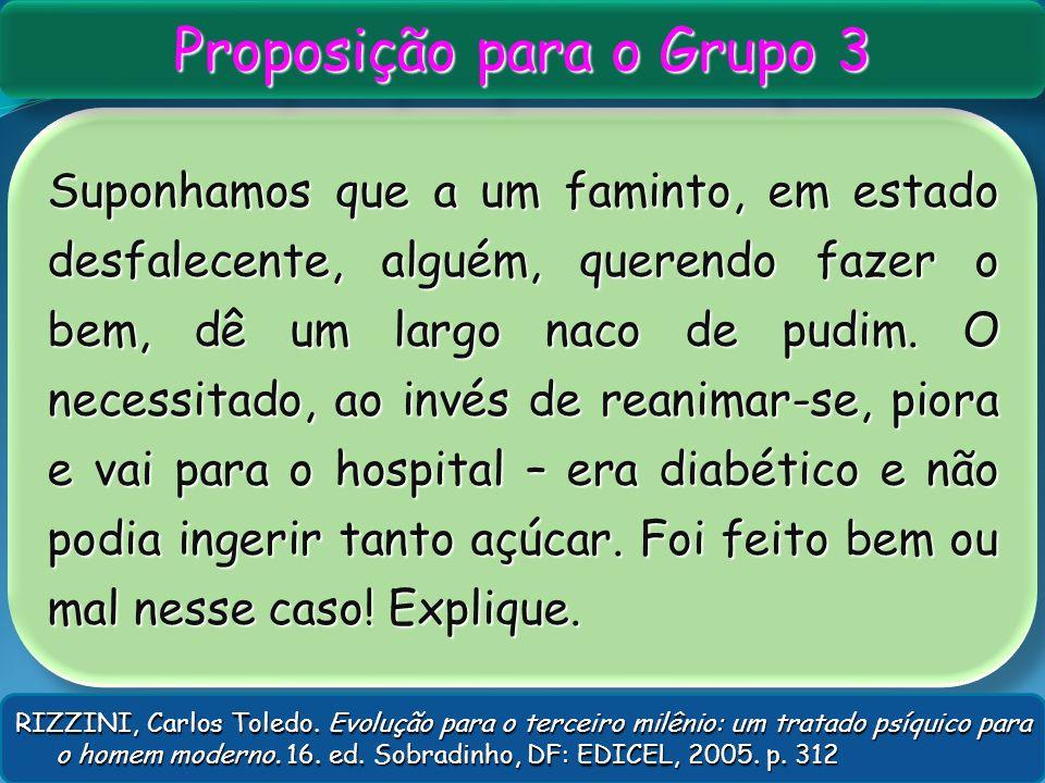 Proposição para o Grupo 3