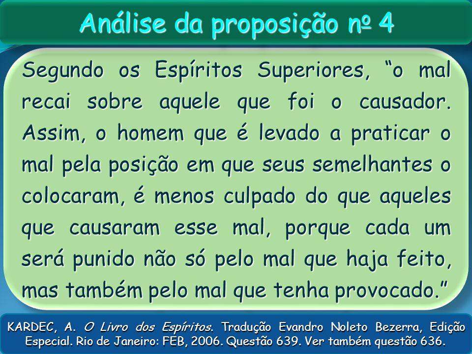 Análise da proposição no 4
