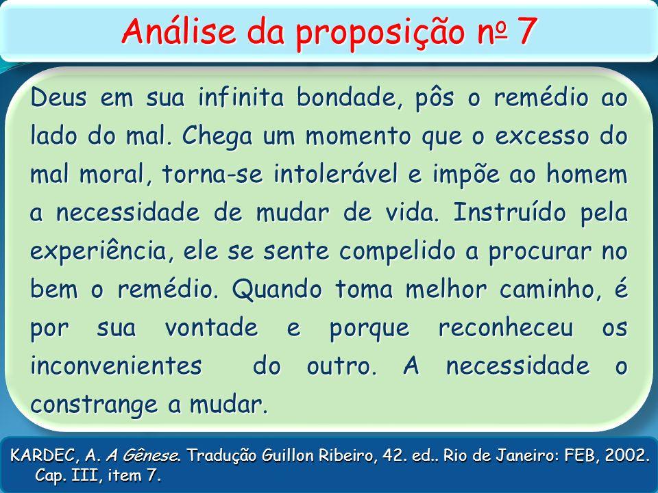Análise da proposição no 7