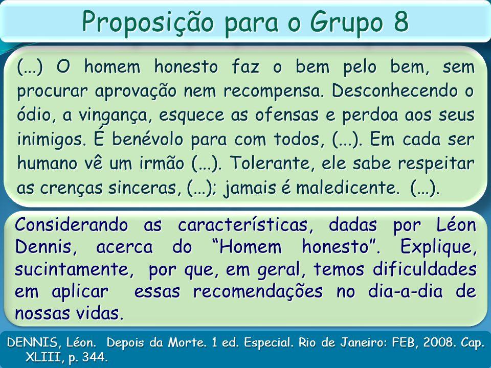 Proposição para o Grupo 8