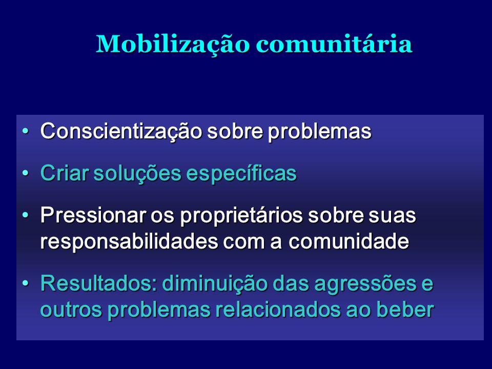 Mobilização comunitária