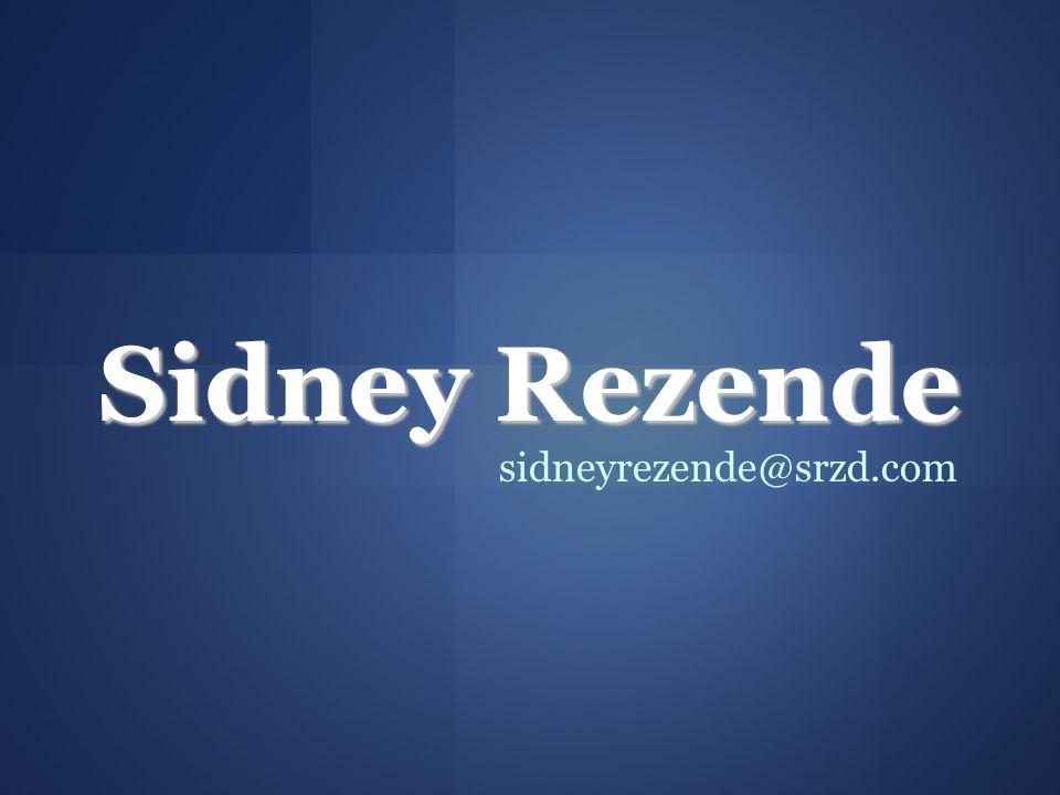 Sidney Rezende sidneyrezende@srzd.com 29 29