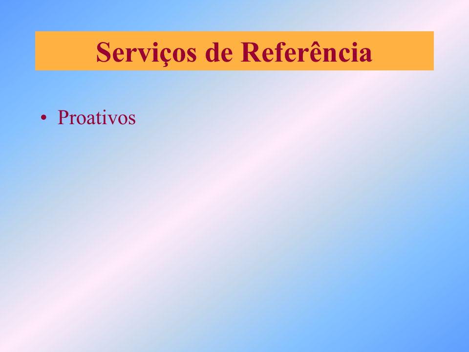 Serviços de Referência