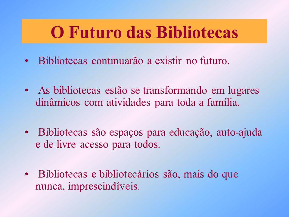 O Futuro das Bibliotecas