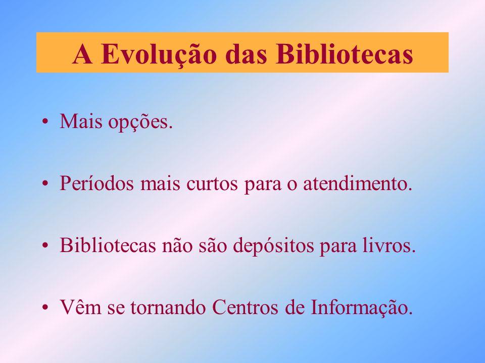 A Evolução das Bibliotecas