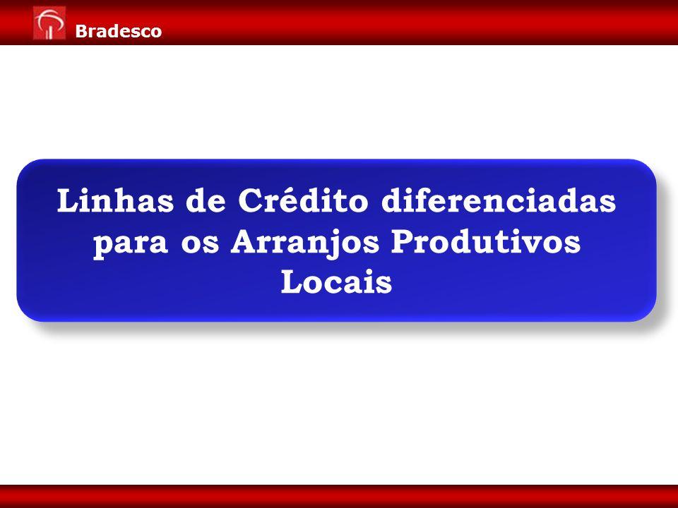 Linhas de Crédito diferenciadas para os Arranjos Produtivos Locais