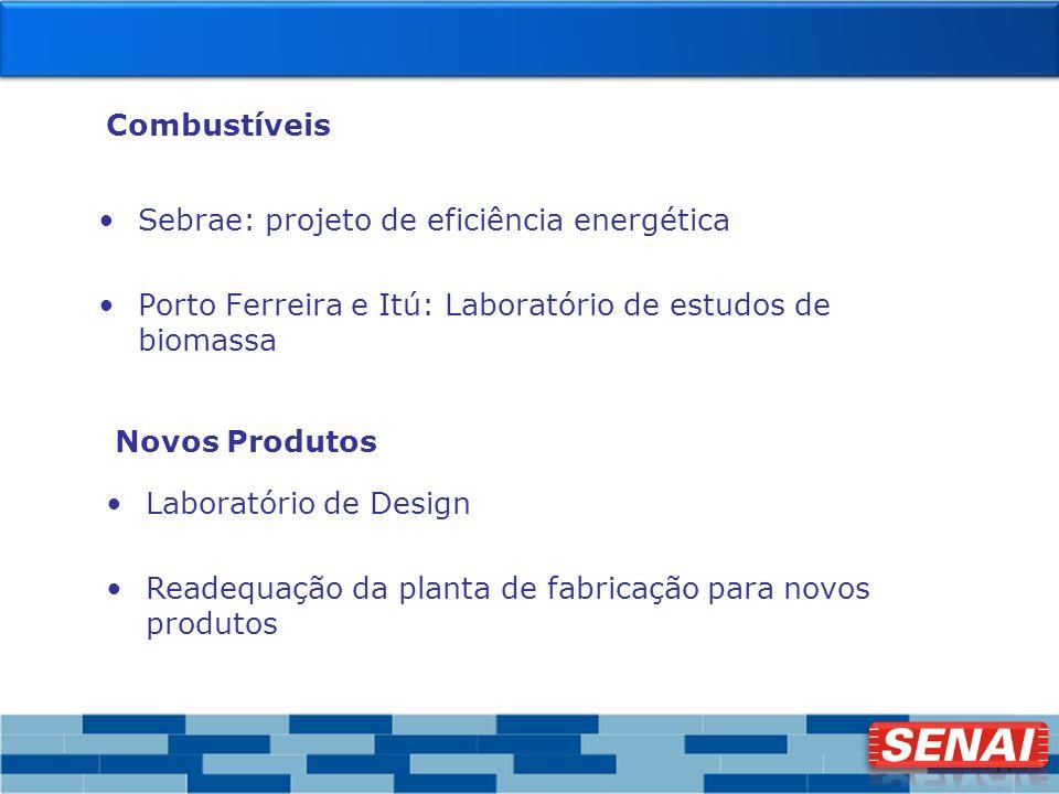 Combustíveis Sebrae: projeto de eficiência energética. Porto Ferreira e Itú: Laboratório de estudos de biomassa.