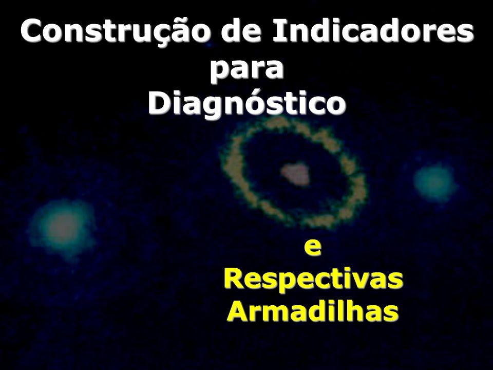 Construção de Indicadores para Diagnóstico