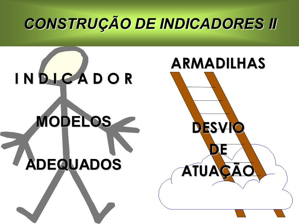 CONSTRUÇÃO DE INDICADORES II