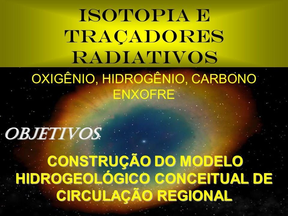 ISOTOPIA E TRAÇADORES RADIATIVOS