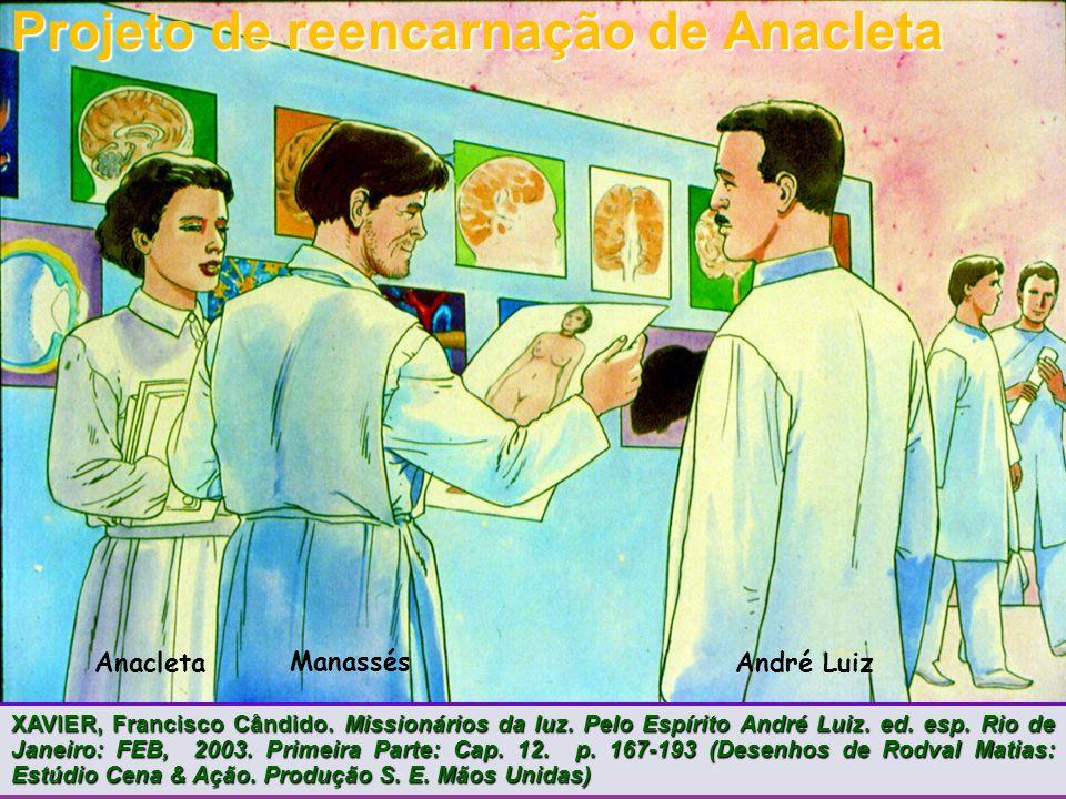 Projeto de reencarnação de Anacleta