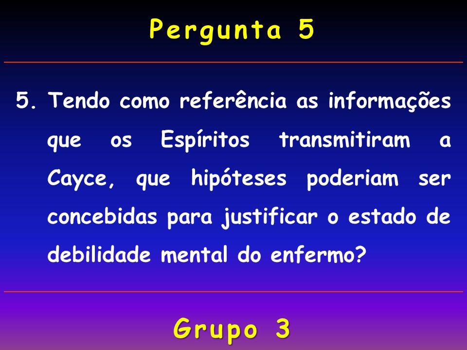 Pergunta 5