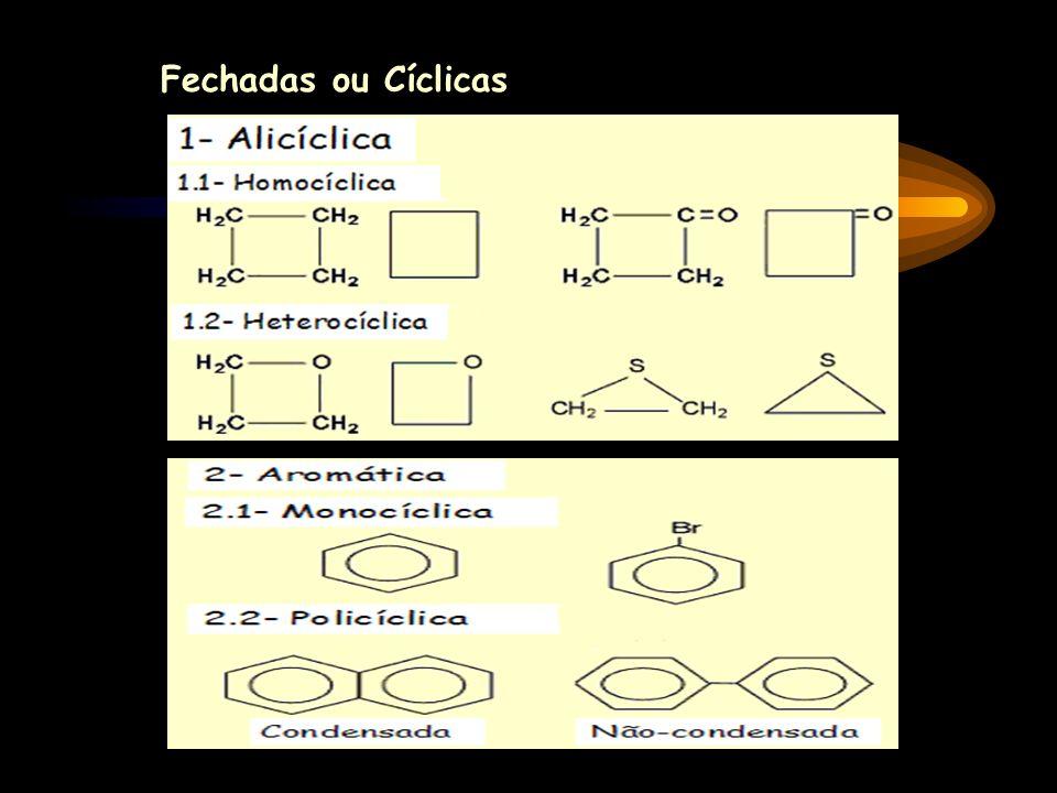 Fechadas ou Cíclicas