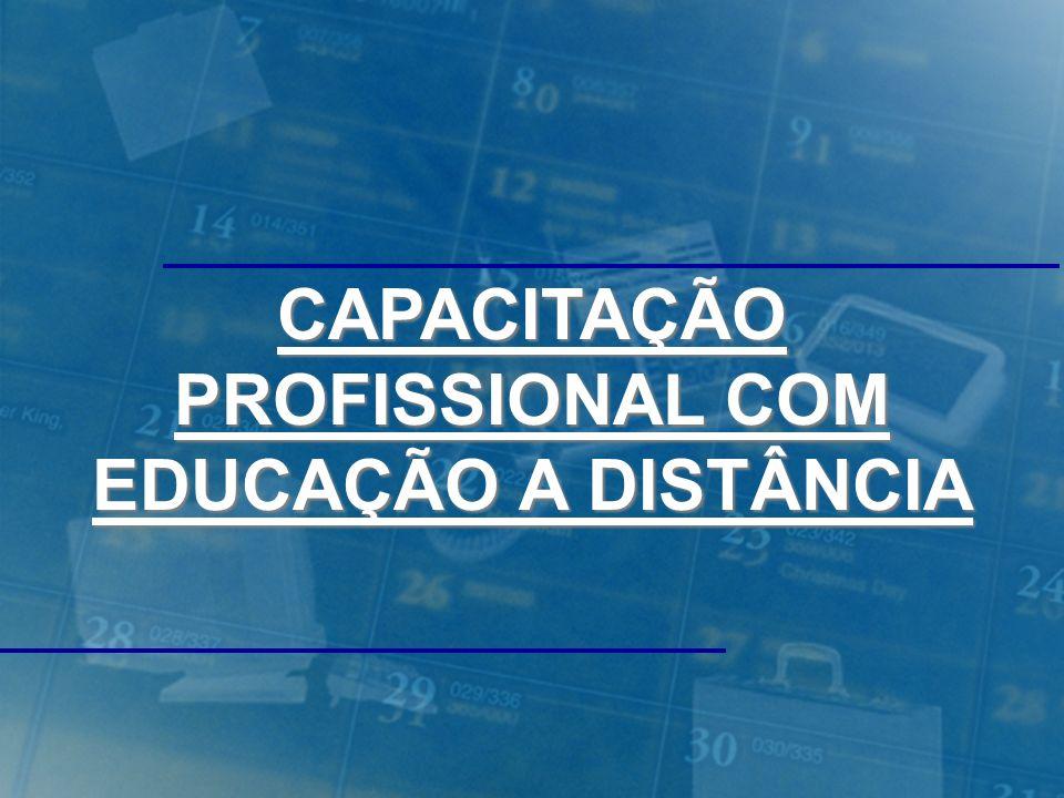 CAPACITAÇÃO PROFISSIONAL COM