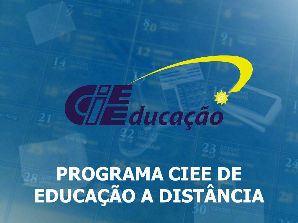 PROGRAMA CIEE DE EDUCAÇÃO A DISTÂNCIA