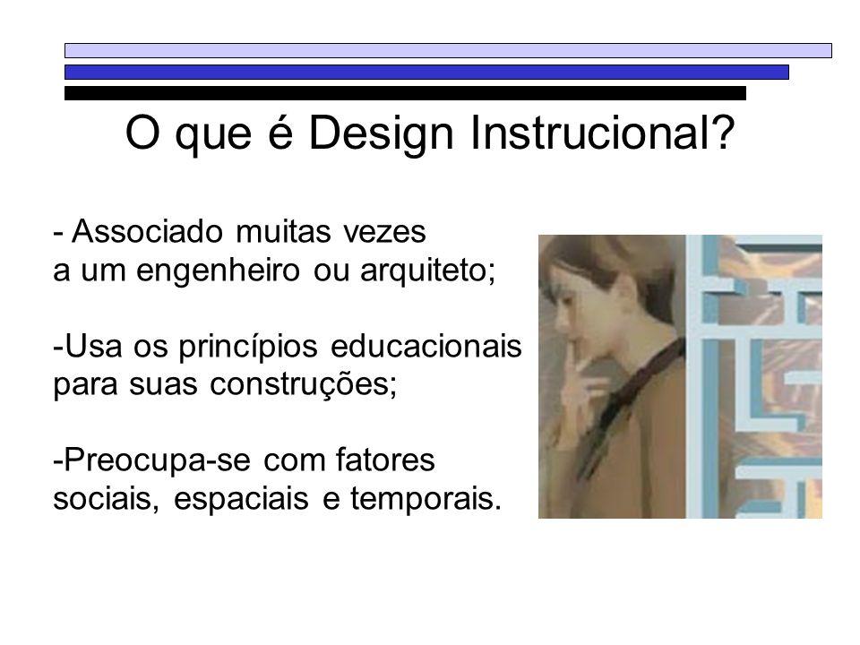O que é Design Instrucional
