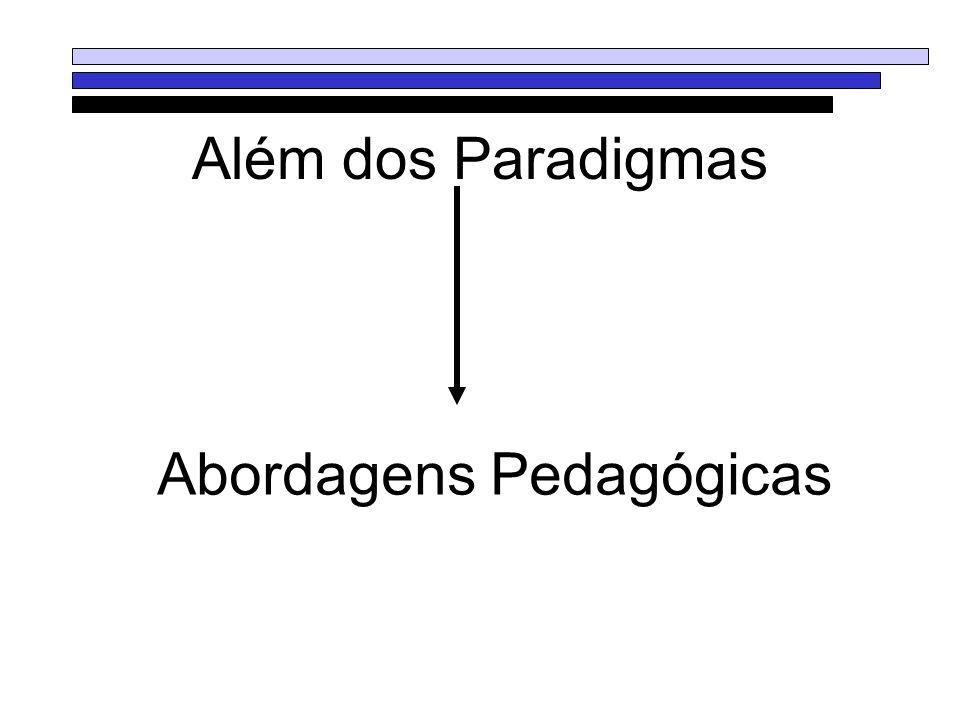 Além dos Paradigmas Abordagens Pedagógicas