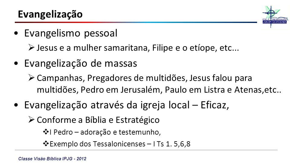 Evangelização de massas