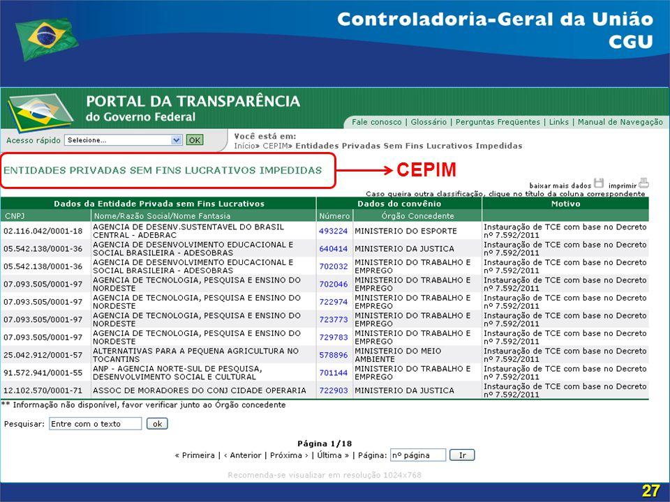CEPIM 27